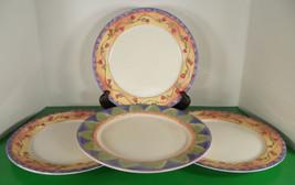 Sango SWEET SHOPPE Dinner Plate (s) LOT OF 4 Crepe Suzette Almond Torte - $39.55