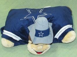 "DALLAS COWBOYS Pillow Pets ROWDY MASCOT Plush Stuffed 19"" SPORTS FOOTBAL... - $14.01"