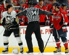 SIDNEY CROSBY & ALEX OVECHKIN 8X10 PHOTO PITTSBURGH PENGUINS CAPITALS PI... - $3.95