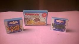 Barbie Doll House Furniture Dining Diorama Kitchen Little Food-TV Frozen... - $15.00