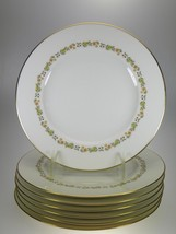 Syracuse China Madison Salad Plates Set of 7 Made in USA - $42.97
