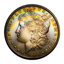 1879 O UNC MORGAN SILVER DOLLAR  BEAUTIFUL TONING, KEY DATE * 317 - $171.50