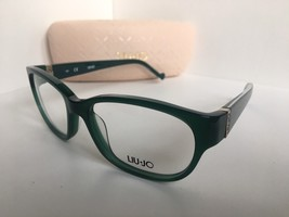 New LIU JO LJ 2611 LJ2611 303 Green 53mm Rx Women's Eyeglasses Frame - $134.99