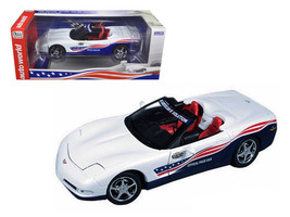 2004 Chevrolet Corvette Indy Pace Car 1/18 Diecast Model Car by Autoworld - $69.14