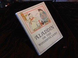 Aladdin, or The Wonderful Lamp 1905 Henry Altemus in dust jacket - $294.00