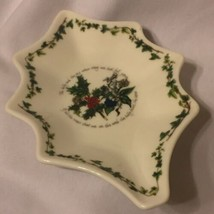 Portmeirion Holly and Ivy Leaf Dish 1 - $9.95