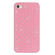 Amzer Diamond Lattice Snap On Shell Case for iPhone 4 4S - Light Pink - $16.78