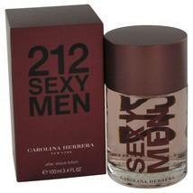 212 Sexy By Carolina Herrera After Shave 3.3 Oz 446998 - $53.72