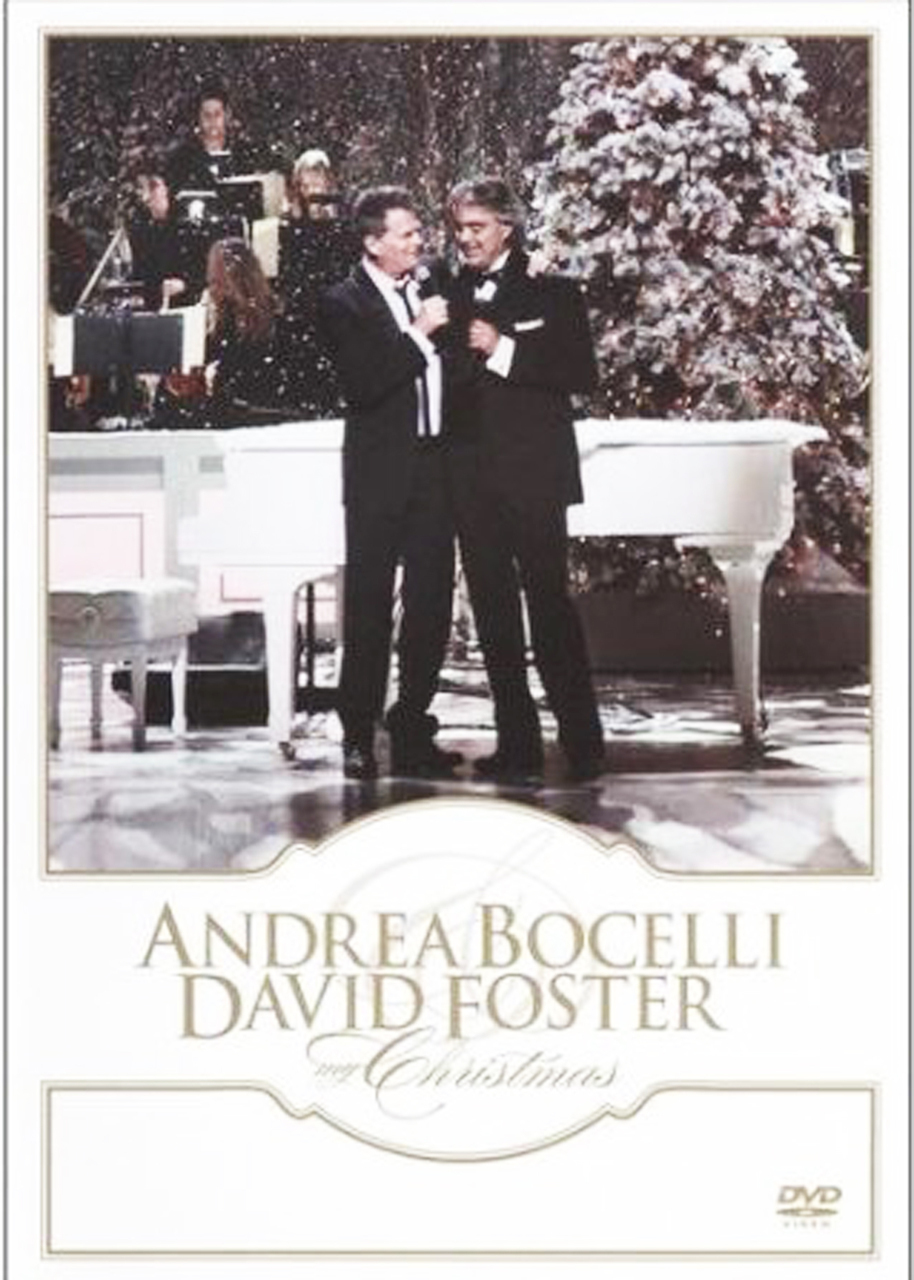My christmas by andrea bocelli and david foster   dvd