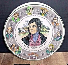 Vintage Royal Doulton T.C. 1040 Character Plate Robert Burns 10 1/2' EXCELLENT! - $29.21
