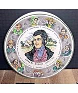 Vintage Royal Doulton T.C. 1040 Character Plate Robert Burns 10 1/2' EXC... - $29.21