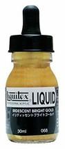 Liquitex acrylic paints Liquitex Liquid Bright Gold 068 30ml - $16.72