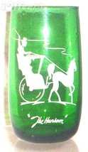 ANCHOR HOCKING/FIRE KING FOREST GREEN ICED TEA GLASS - $7.95