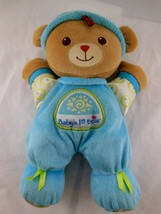"Fisher Price Blue Baby's 1st Bear Rattle Stuffed Plush Stuffed Toy Doll 11"" - $7.29"