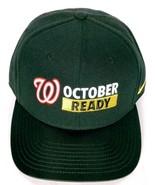 Washington Nationals October Ready 2017 Post Season MLB Men Strapback Ha... - $26.27
