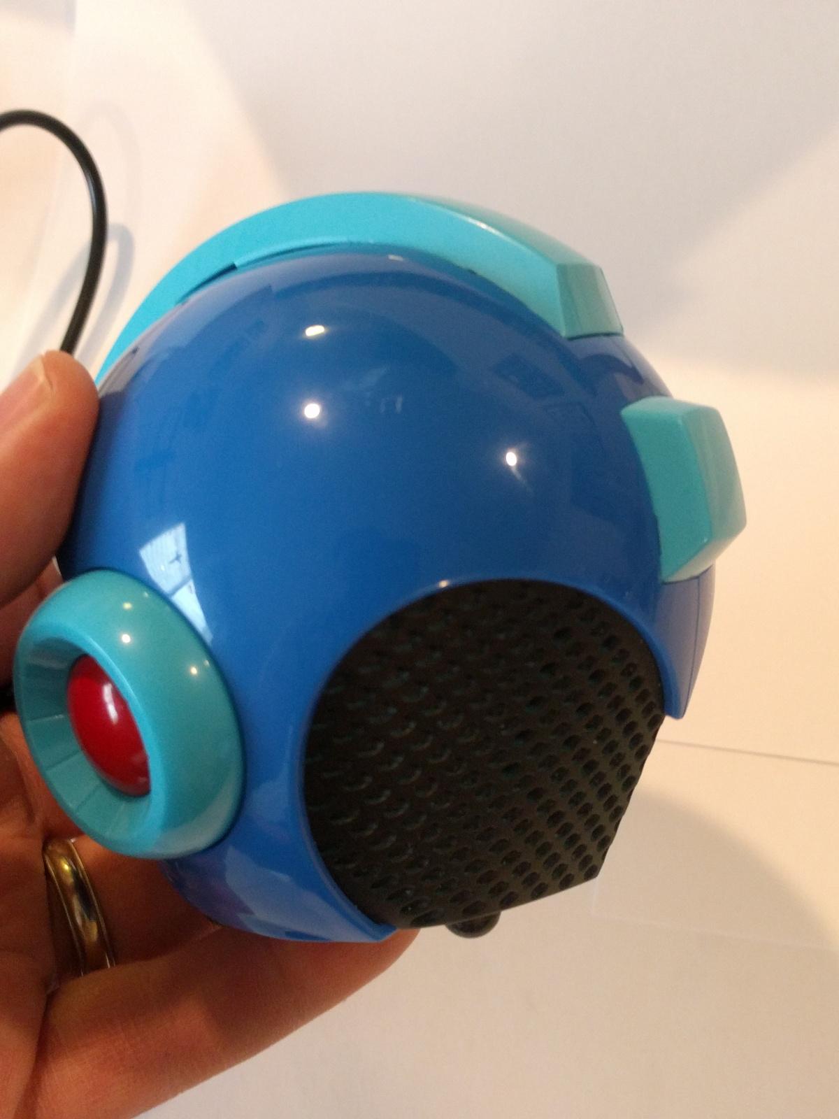 MegaMan Helmet gaming system w/ Raspberry Pi ZeroW installed. Modded Megaman Hel