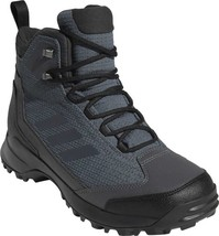 adidas Terrex Heron Mid CW CP Hiking Boot (Men's) in Grey Five / Carbon ... - $154.51
