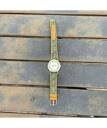 Vintage Ronica SOCCER Theme Sport Watch - For Parts / Repair - Needs Cry... - $10.00