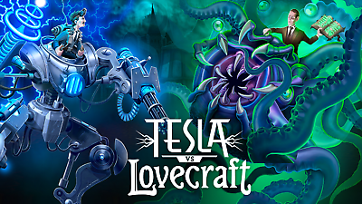 Primary image for Tesla Vs Lovecraft PC Steam Key NEW Download Fast Dispatch Region Free