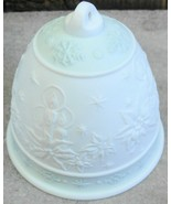 LLadro 1992 Christmas Bell Ornament Green Candles - $24.00