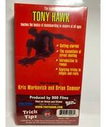 Tony Hawks Trick Tips: Skateboarding Basics (VHS, 2000) Sealed - $9.49