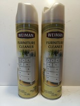 Weiman Furniture Cleaner Spray 12 oz Discontinued Rare HTF Lot of Two - $34.65