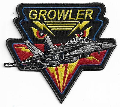 Primary image for USMC Grower Elite F-14 Tomcat Flight EA-18G Electronic Warfare Patch