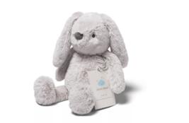 Cloud B Gray Hugginz Bunny Soft Plush Gold Stars Stuffed Animal Toy - $24.74