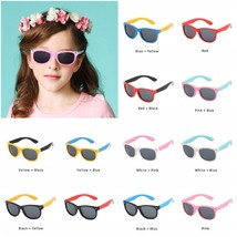 Kids HD Polarized Sunglasses Girls Unbreakable Frame Glasses Anti UV Pro... - $14.09