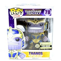 "Funko Pop! Marvel Thanos 6"" Entertainment Earth Glow in Dark Exclusive Figure image 1"