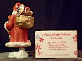 anta and 5 Piece Winter Wishes Table Set AA19-CD0052 Vintage image 10