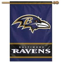 "WinCraft Baltimore Ravens Primary Logo House Flag, 28"" x 40""  - $25.00"