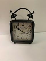 Retro De Paris Clocks Bronze Decorative Clock #HD-1688 AA Battery, Teste... - $18.80