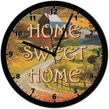 Home Sweet Home 8in. Unique Homemade Wall Clock w/ Battery Included - $23.97