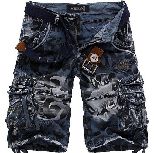 Primary image for 2018 Fashion Hot Sales Men camouflage pants overalls loose cargo shorts pants