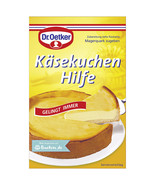 Dr.Oetker Käsekuchen Hilfe Cheesecake help 1ct - Made in Germany - $4.90