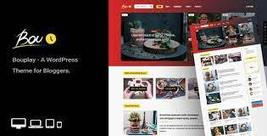 Bouplay WP - A WordPress Theme for Bloggers - $39.00