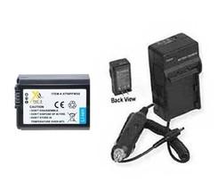 Battery + Charger For Sony SLT-A35Y SLT-A35K SLT-A55 SLT-A55 SLT-A55V SLT-A55VL - $33.23