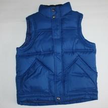 Gap Boys Warmest Vest Blue size S 6 7 - $24.99