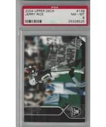 2004 Upper Deck #139 Jerry Rice PSA 8 NM-MT Raiders - $19.75