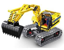 Bo Toys Building Bricks STEM Toy, 342 Pcs Excavator & Robot Construction... - $27.51
