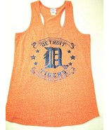 Vtg Detroit Tigers T-Shirt Mens L Baseball Tank Top Major League Genuine... - $24.31