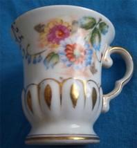 Occupied Japan Demitasse Floral Cup Ucagco  - $12.99