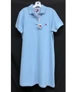 NWT Tommy Hilfiger Logo Size Large Short-Sleeve Sky Blue Polo Womens Shi... - $56.05
