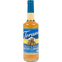 Torani Syrup, Sugar Free, Salted Caramel , 750-ML Pack of 3 by Torani