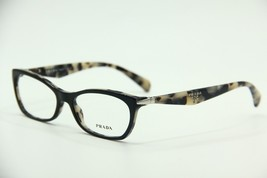 NEW PRADA PR 15P ROK-1O1 BLACK EYEGLASSES PR15P AUTHENTIC RX 53-16 - $86.02