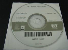 HP OfficeJet 6300 Series Driver Disc - Version 7.9.0  (MAC, 2007) - Disc... - $8.39