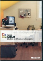 Microsoft Office Student and Teacher Edition 2003 with Key - $9.89