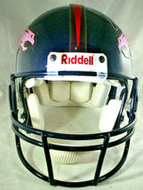 TERRELL DAVIS / AUTOGRAPHED DENVER BRONCOS NFL PRO LINE FOOTBALL HELMET / COA image 5