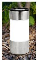 Chrome Solar Power Light Led Outdoor Lighting Powered Garden - $8.83